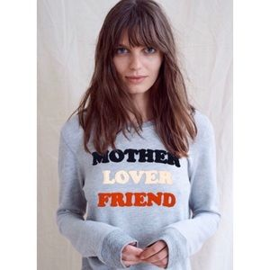 SUNDRY x Anthropologie mother lover friend sweater